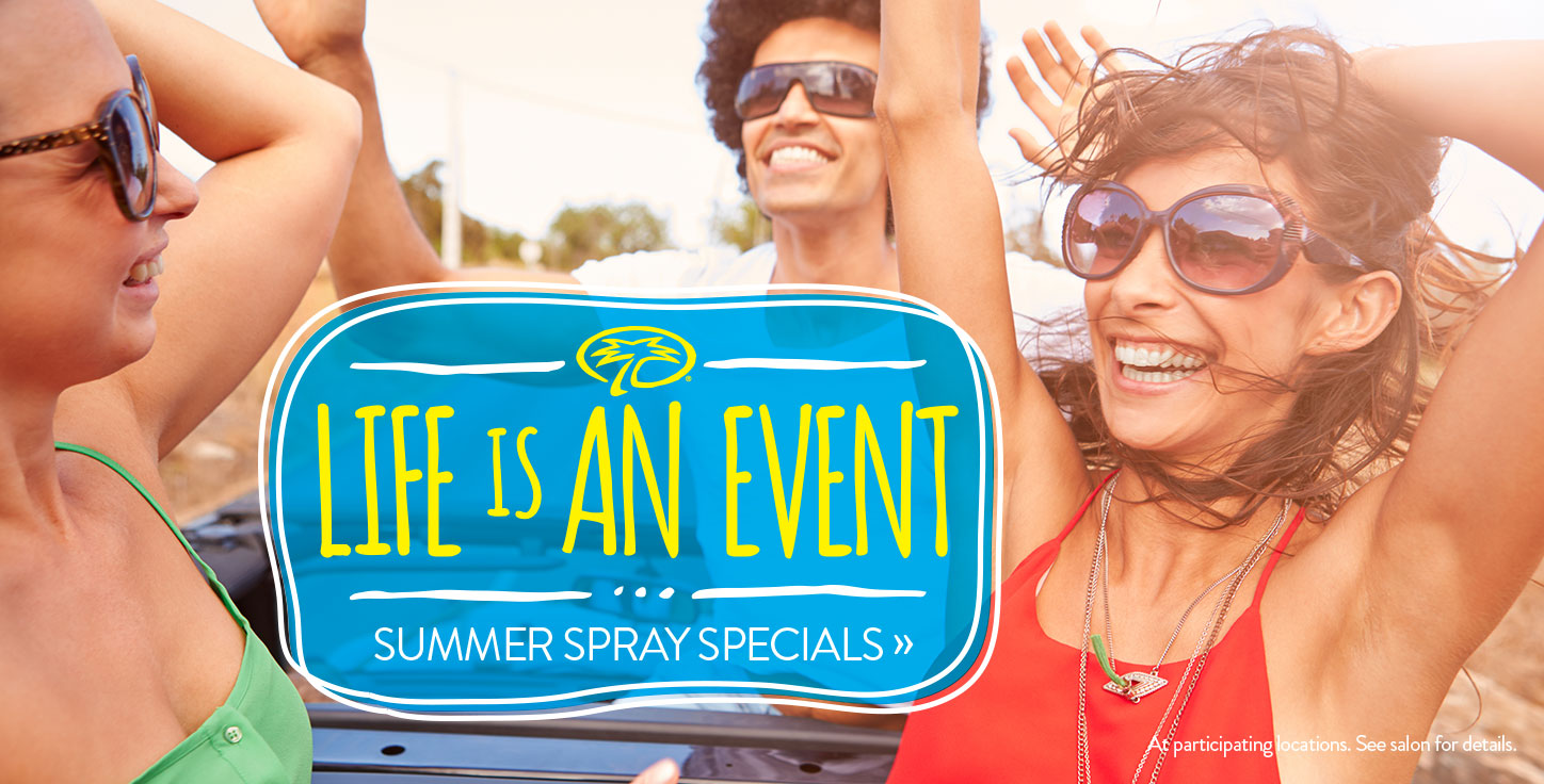 Reach The Beach Spray Tan Specials