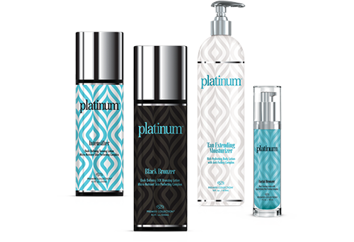 group of Platinum Collection products