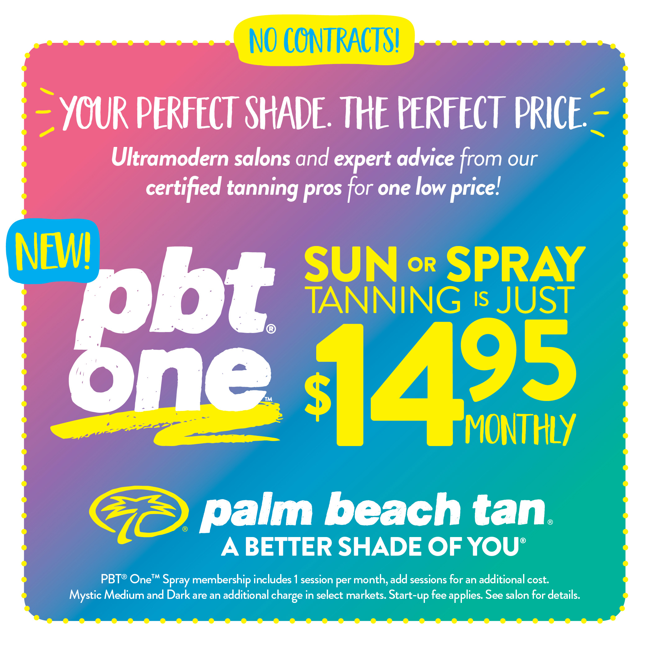 PBT One - $14.95 Sun or Spray