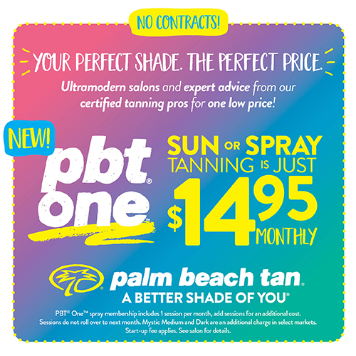 PBT One - $14.95 Sunbed or Spray