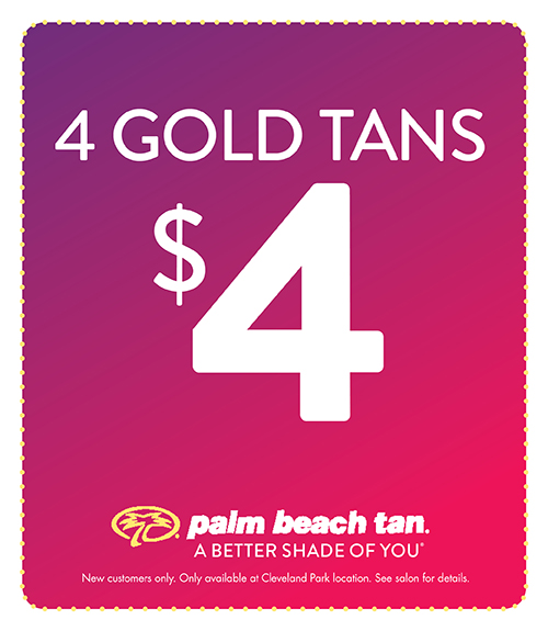 4 for $4 Sunbed Tans