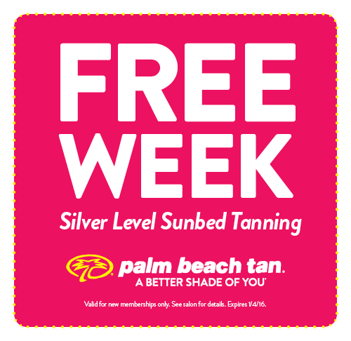 Free Week of Silver Level Sunbed Tanning
