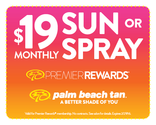 $19 Sun or Spray