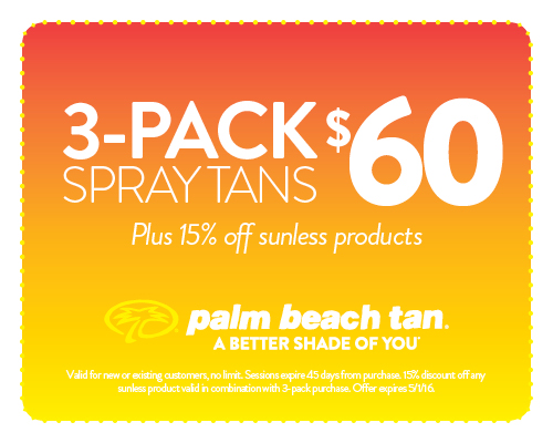 Palm Beach Tan Coupons Dallas