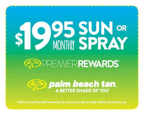 $19.95 Sunbed/Spray