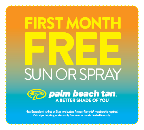 First Month Free Sun or Spray RDD