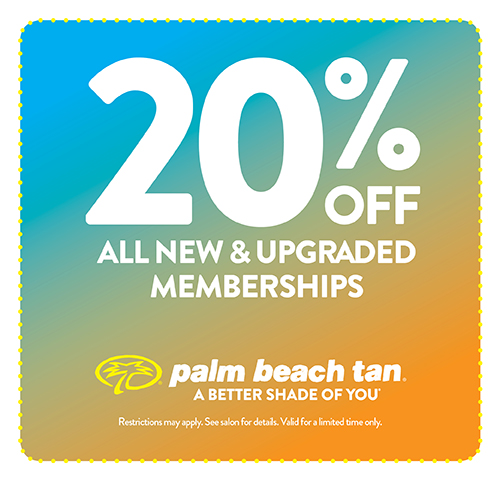 20% Off New & Upgraded Memberships