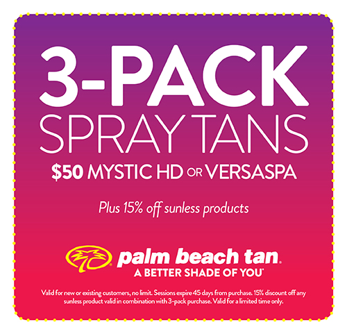Tanning lotion coupons