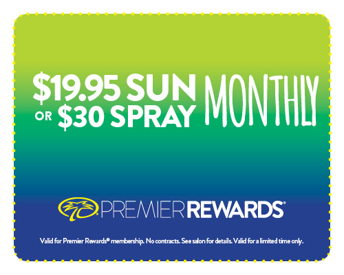 $19.95 Sun or $30.00 Spray