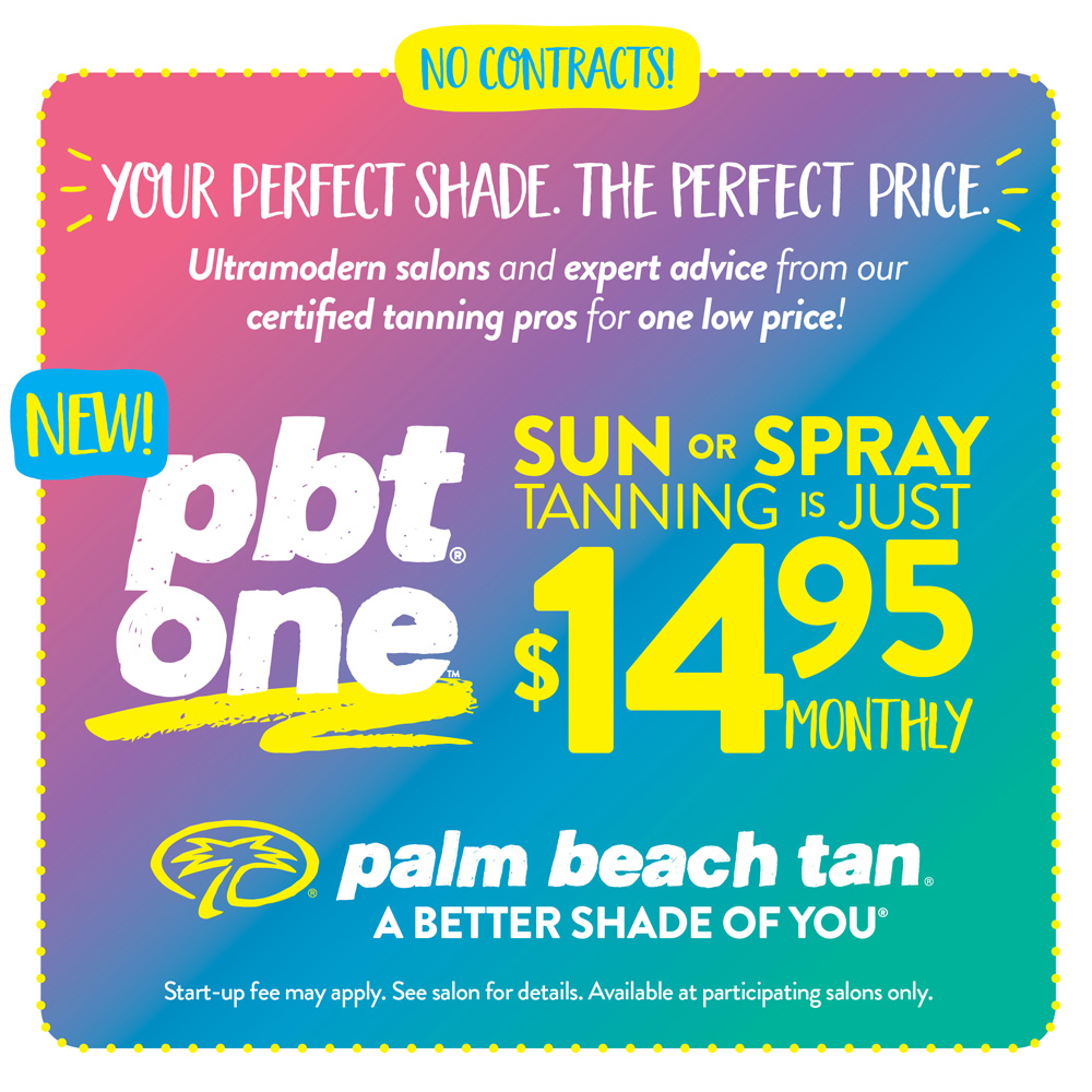 $14.95 Sun or Spray - PBT One