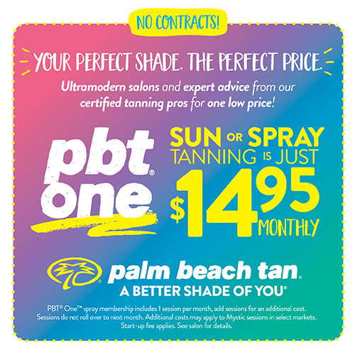 PBT One $14.95 Sun/Spray