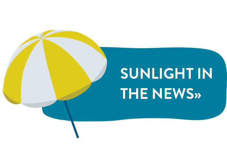 Sunlight in the News